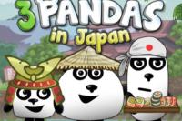 3 Pandas au Japon