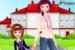 À l'école avec maman