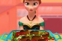 Anna et sa salade de volaille