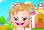 Bébé Hazel en princesse