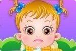 Bébé Hazel est malade