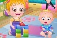 Bébé Hazel et son petit frère