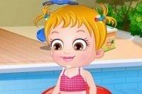 Bébé Hazel plaisir estival
