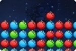 Cliquer sur les boules de Noël