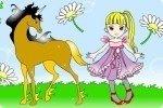 Coloriage de chevaux