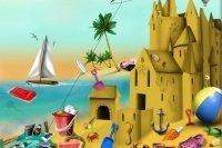 Construire un château de sable