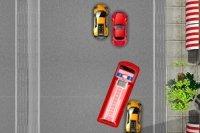 Course du camion de pompiers