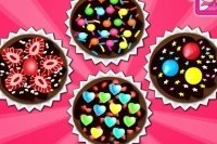 Cupcakes chocolat.
