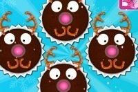 Cupcakes Rudolf