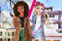 Elsa et Vaïana Échanges Étudiants
