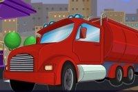 Garer le Camion citerne