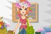Habiller la fleuriste