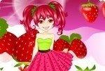 La fillette aux fraises