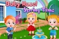 Le printemps de bébé Hazel