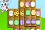 Mahjong d'œufs de Pâques