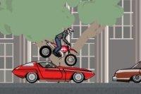 Motocross à l'Heure de pointe