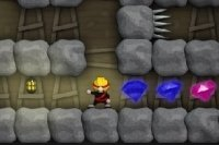 Ninja dans les mines