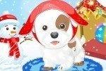 Petit chien des neiges