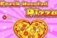 Pizza en cœur