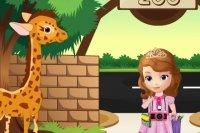 Première aventure de Sofia au zoo