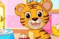 Prends soin du bébé tigre