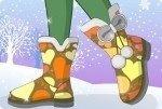 Snowboots bien chauds