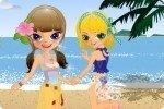 Sœurs à la plage