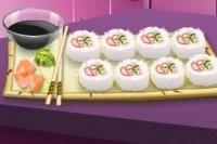 Sushis du cours de cuisine de Sarah