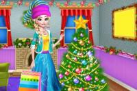 Décorer le Sapin La Reine des Neiges