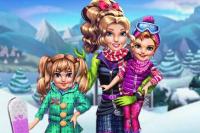 Jumelles aux sports d'hiver