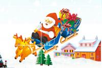 Puzzles Le Traineau du Père Noël